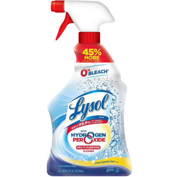 Lysol with Hydrogen Peroxide Multi-Purpose Cleaner, Citrus S