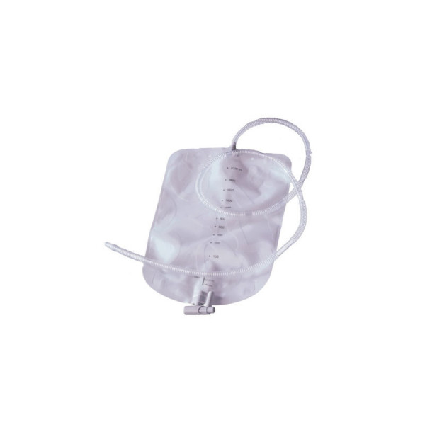 Coloplast 21365 - Urostomy Night Drainage Bag with Anti-Refl