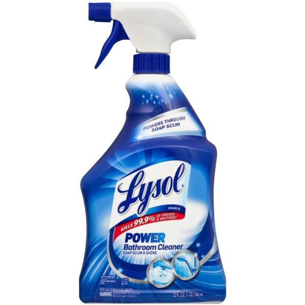 Lysol Bathroom Cleaner Spray, Island Breeze, 32 oz