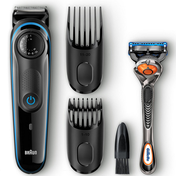Braun Beard Trimmer BT3040 Ultimate Hair Clipper, 39 Length