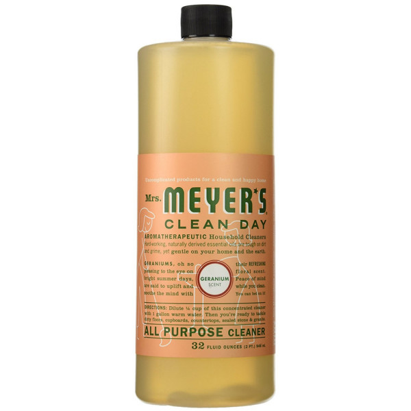 Mrs. Meyers Clean Day All Purpose Cleaner, Geranium 32 oz