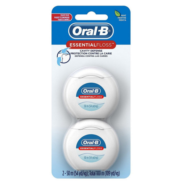 Oral-B EssentialFloss Cavity Defense Dental Floss 2 ea