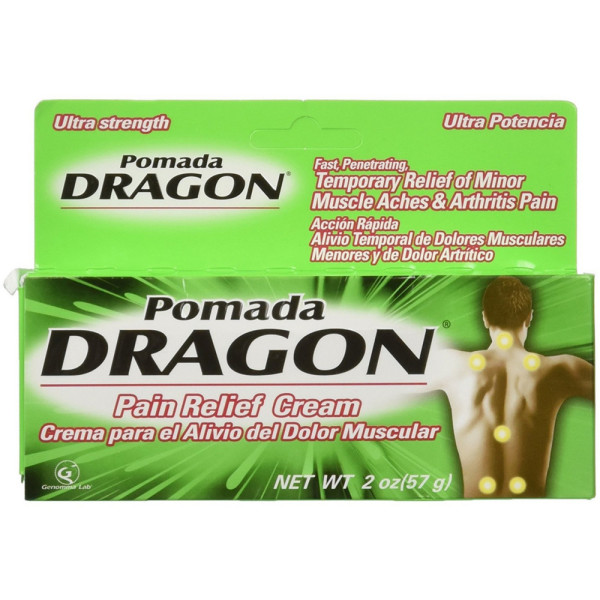 Pomada Dragon Ultra Strength Pain Relieving Cream 2 oz