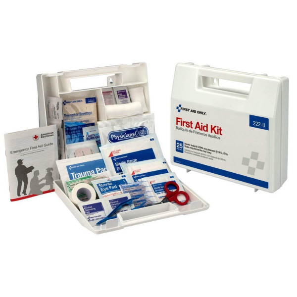 First Aid Only Bulk First Aid Kit, For Up To 10 People 1 ea