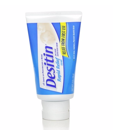 Keep DESITIN® products on hand and on your baby's bottom at all times. It just works so you and your little one can get back to the things that matter.