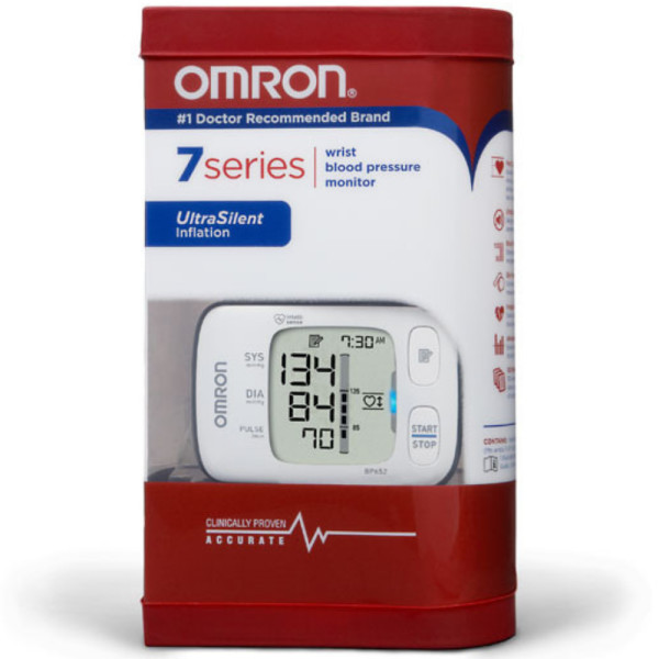 Omron 7 Series Wrist Blood Pressure Monitor 1 ea