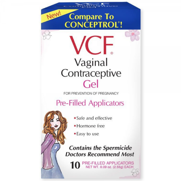 VCF Vaginal Contraceptive Gel Pre-Filled Applicators 10 ea