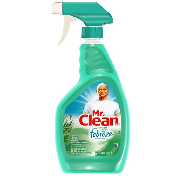 Mr. Clean with Febreze Fresh Multi-Purpose Cleaner, Meadows