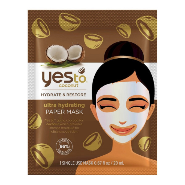 Yes To Coconut Hydrate & Restore Ultra Hydrating Mask, 1 ea