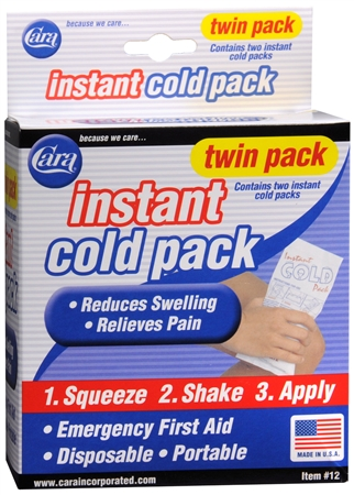 Cara Instant Cold Pack, Twin Pack