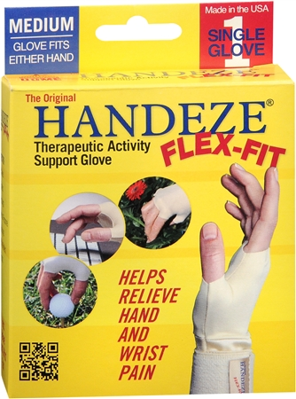 HANDEZE Flex-Fit Glove Medium 1 Each
