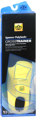 Spenco PolySorb Cross Trainer Insoles #2 1 Pair