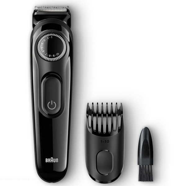 Braun BT3020 Men's Beard Trimmer, Cordless & Rechargeable, B