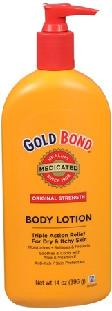 Gold Bond Body Lotion Medicated 14 oz
