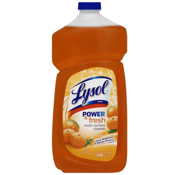 Lysol Power and Fresh All Purpose Cleaner, Tangerine Mango,